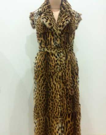 Пальто камышовый кот