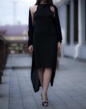 Платье вечернее стильное